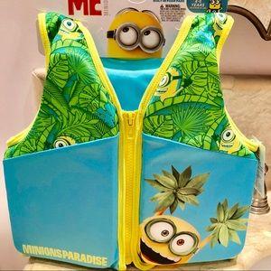 Despicable Me-Minions Paradise- Swim Vest 4-6 yrs